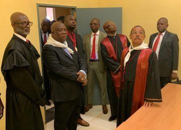 Inauguração do Tribunal da Comarca de Cazengo. 30.07.2019