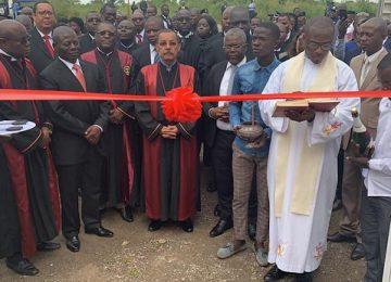 Inauguração do Tribunal de Comarca do Soyo. 30-04-2019