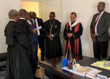 Inauguração do Tribunal de Comarca de Cambambe. 31.07.2019