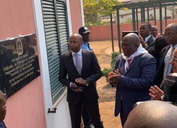 Inauguração do Tribunal da Comarca de Cambambe. 31.07.2019