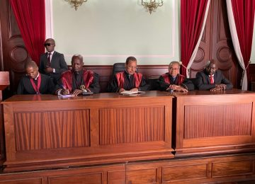 Inauguração do Tribunal de Comarca de Moçamedes. 08.07.2019