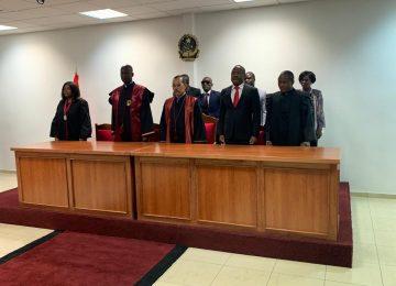 Tribunal da Comarca de Cuanhama. Inauguração 2019