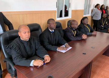 Inauguração do Tribunal da Comarca de Tombwa, 2019