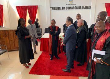 Tribnal da Comarca de Matala. Inauguração 2019