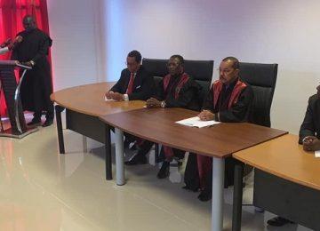 Inauguração do Tribunal de Comarca do Soyo. 30.04.2019