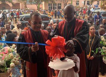 Inauguração do Tribunal da Comarca do Amboim. 19.09.2019