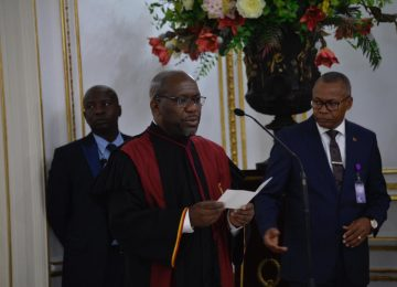 Empossamento do Presidente do Tribunal Supremo Dr. Joel Leonardo: 30.10.2019