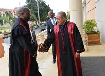 Empossamento do Presidente do Tribunal Supremo Dr. Joel Leornardo: 30.10.2019